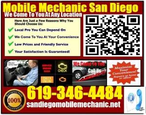 Mobile Mechanic SpringValley California